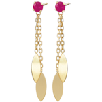 gift women Sakari Ruby Earrings