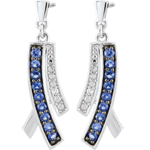 buy on line Sapphire Blina Earrings