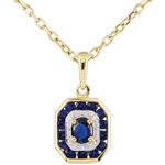 gifts Sapphire-studded Oriade Pendant