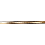 Juwelier Schlangenkette Gelbgold 42 cm