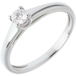 sell on line Solitaire Classic white gold
