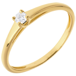 Solitaire Classic yellow gold