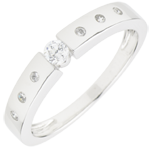 sell on line Solitaire Ring Désirée - White gold