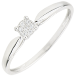 gifts woman Solitaire Ring Multitude of stars