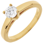 gift woman Solitaire Ring Nuptian