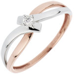 gift woman Solitaire Ring Precious Nest - Light-