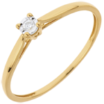 sales on line Solitaire Ring Sprig