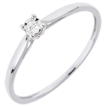 wedding Solitaire Ring Sprig