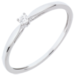 gifts women Solitaire Ring Sprig