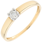 gift Solitaire Ring The real Love