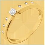 Geschenke Frau Solitär-Ring Désirée Gelbgold