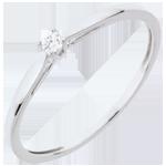 Geschenke Frau Solitär Ring Schilfgras