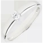 Juweliere Solitär Ring Trésor 0.1 Karat
