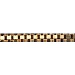 Średni łańcuszek wenecjana z żółtego złota 18-karatowego - 42 cm