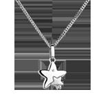Juweliere Sternenduett - Kleines Modell - Weißgold