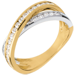 buy on line Tandem ring paved - 0.52 carat - 29 diamonds