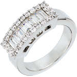 on-line buy The Lanière white gold - 1.38 carat - 31 diamonds