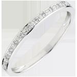 Juweliere Trauring Eclats de diamant