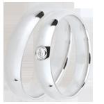 Geschenke Frauen Trauringe Extra 1 Diamant