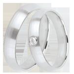 Schmuck Trauringe Ideal 1 Diamant