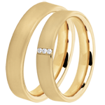 online kaufen Trauringe Pegasus 3 Diamanten