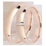 Online Kauf Trauringe Royal 3 Diamanten