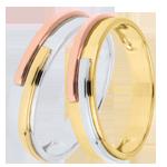 Juwelier Trauringe Titan und Titan Tricolor