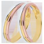 Juwelier Trauringe Triya Tricolor