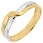 gold jewelry Two Golds Eden Passion Wedding Ring