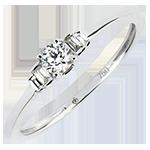 Verlovingsring Overvloed - Jayne - 9 karaat witgoud met diamanten