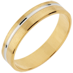 Wedding Ring Emmanuel - Yellow gold