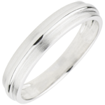 Wedding Ring Helio - White gold