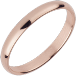 wedding Wedding Ring Pink gold - 18 carat