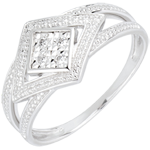 present White Gold and Diamond Andromache Ring