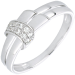 White Gold and Diamond Desira Ring
