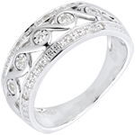 gift woman White Gold and Diamond Diane Ring