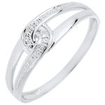 White Gold and diamond Evita Ring