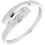 on line sell White Gold and Diamond Lumière Ring