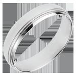 White Gold Cardinal Ring