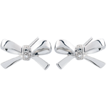 sell White Gold Carlotta Bow Earrings