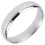 White Gold Dandy Ring