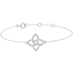 on line sell White Gold Diamond Bracelet - Prisma Star