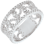 White Gold Diamond Varda Ring - 18 carats