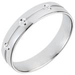 on line sell White Gold Giza Wedding Ring