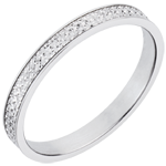 White Gold Maxim Wedding Ring
