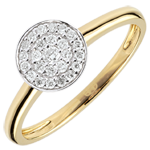 women White Gold My Constellation Ring - 18 carats