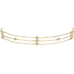 weddings Yellow Gold Gratitude Bracelet - 18 carats