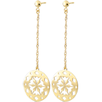 Yellow Gold Makwa Earrings