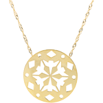 women Yellow Gold Makwa Necklace