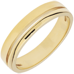 sell on line Yellow Gold Olympia Wedding Band - Small Model - 18 carats